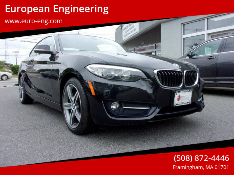 2017 BMW 2 Series for sale at European Engineering in Framingham MA