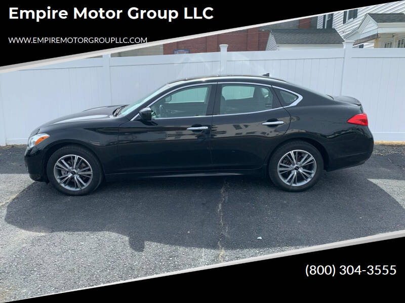 2011 Infiniti M37 for sale at Empire Motor Group LLC in Plaistow NH