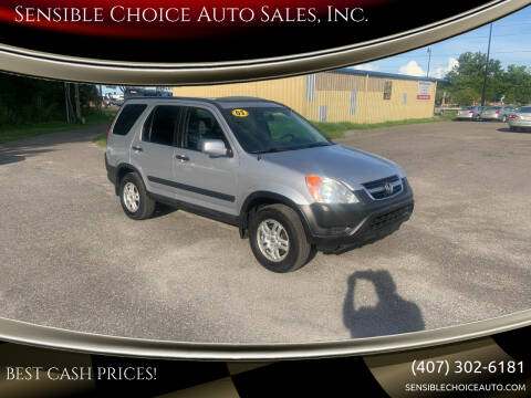 2003 Honda CR-V for sale at Sensible Choice Auto Sales, Inc. in Longwood FL