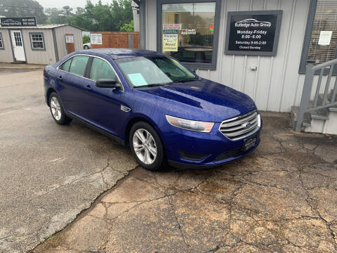 2015 Ford Taurus for sale at Rutledge Auto Group in Palestine TX