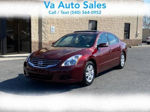 2012 Nissan Altima for sale at Va Auto Sales in Harrisonburg VA