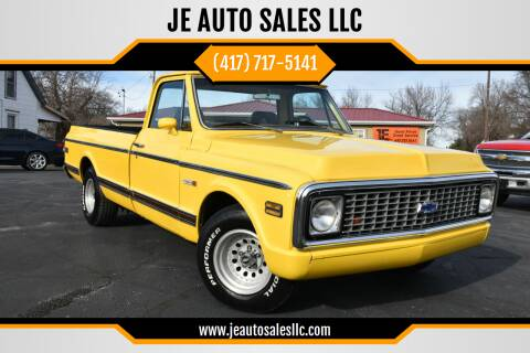 1971 Chevrolet C/K 10 Series for sale at JE AUTO SALES LLC in Webb City MO