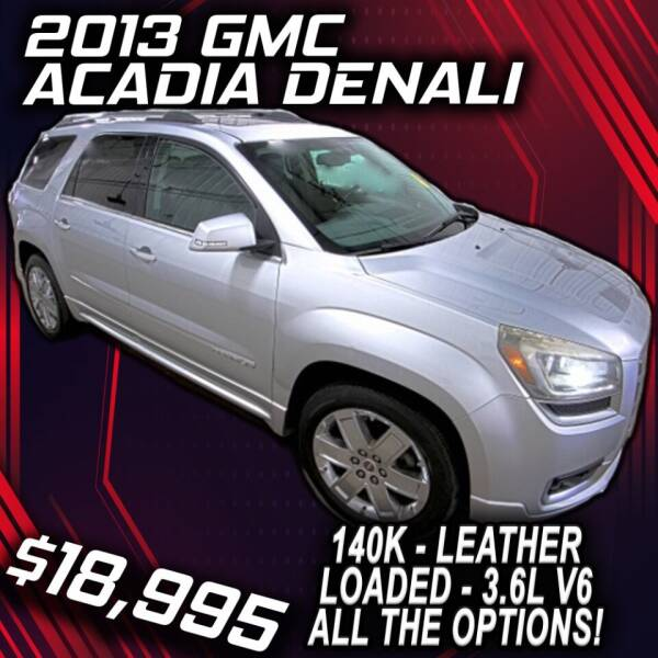 2013 GMC Acadia for sale at Badlands Brokers in Rapid City SD