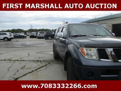 2006 Nissan Pathfinder for sale at First Marshall Auto Auction in Harvey IL