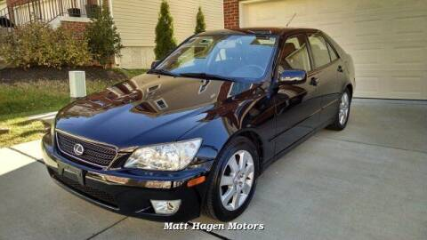 2002 Lexus IS 300 for sale at Matt Hagen Motors in Newport NC