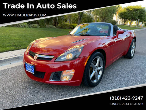 2008 Saturn SKY for sale at Trade In Auto Sales in Van Nuys CA