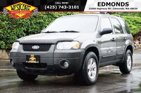 2005 Ford Escape for sale at West Coast Auto Works in Edmonds WA