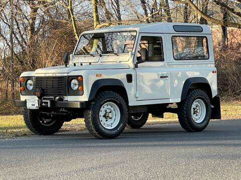1988 Land Rover Defender 90 Hard Top for sale at McQueen Classics in Lewes DE