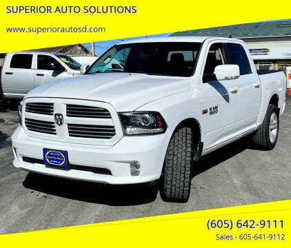 2016 RAM Ram Pickup 1500 for sale at SUPERIOR AUTO SOLUTIONS in Spearfish SD