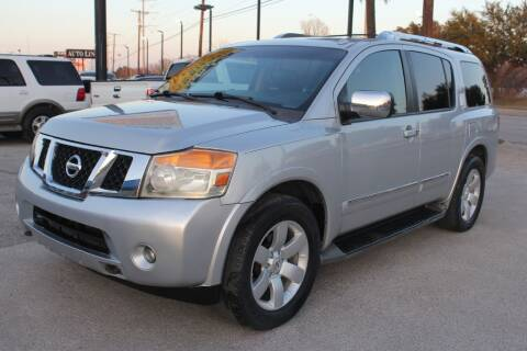 2011 Nissan Armada for sale at Flash Auto Sales in Garland TX