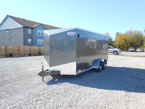 2021 Impact Tremor 7x16 HD for sale at Jerry Moody Auto Mart - Trailers in Jeffersontown KY