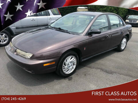 1999 Saturn S-Series for sale at First Class Autos in Maiden NC