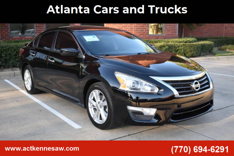 2013 Nissan Altima for sale at Atlanta Cars and Trucks in Kennesaw GA