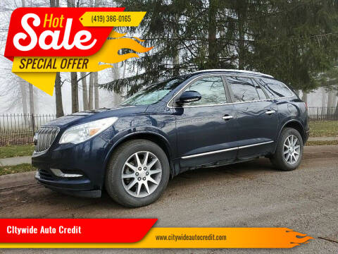 2016 Buick Enclave for sale at CItywide Auto Credit in Oregon OH