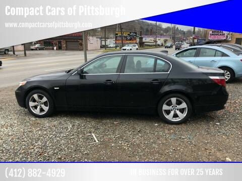 2006 BMW 5 Series for sale at Compact Cars of Pittsburgh in Pittsburgh PA