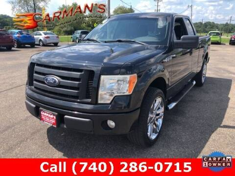 2010 Ford F-150 for sale at Carmans Used Cars & Trucks in Jackson OH