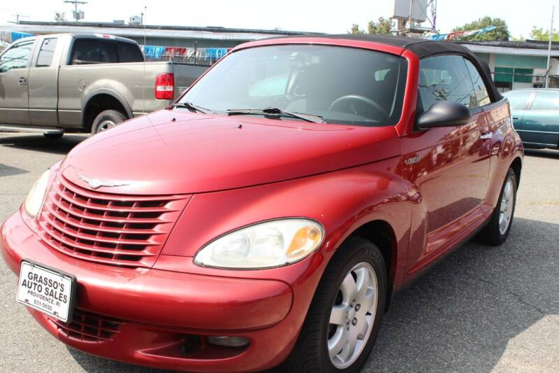 2005 Chrysler PT Cruiser for sale at Grasso's Auto Sales in Providence RI