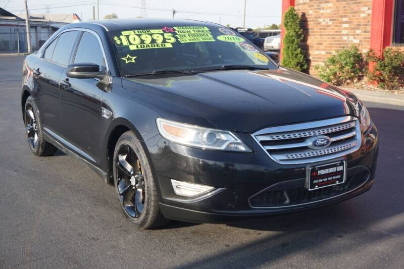 2010 Ford Taurus for sale at Premium Motors in Louisville KY