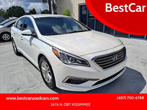 2015 Hyundai Sonata for sale at BestCar in Kissimmee FL
