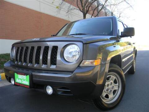 2017 Jeep Patriot for sale at Dasto Auto Sales in Manassas VA