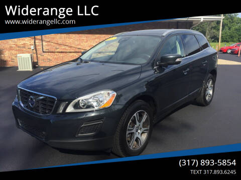 2012 Volvo XC60 for sale at Widerange LLC in Greenwood IN