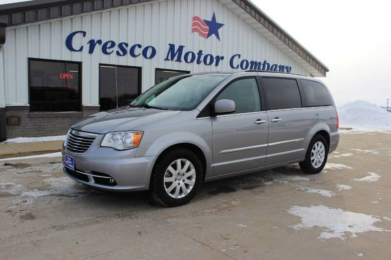 2016 Chrysler Town and Country for sale at Cresco Motor Company in Cresco IA