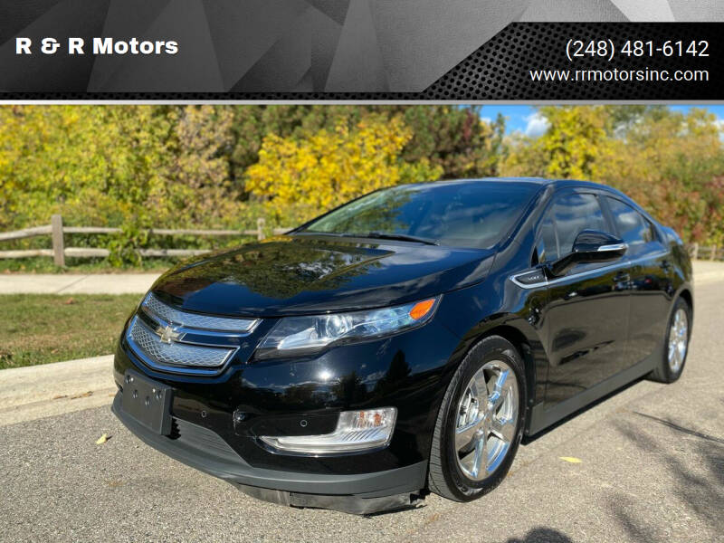 2012 Chevrolet Volt for sale at R & R Motors in Waterford MI