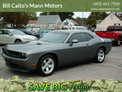 2011 Dodge Challenger for sale at Bill Caito's Mann Motors in Warwick RI