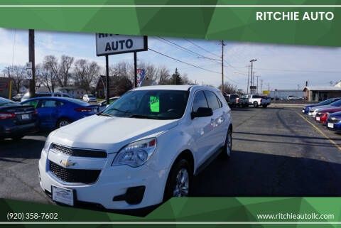 2014 Chevrolet Equinox for sale at Ritchie Auto in Appleton WI