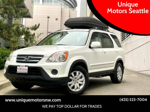 2005 Honda CR-V for sale at Unique Motors Seattle in Bellevue WA