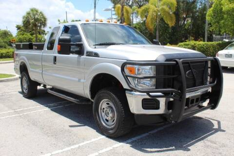 2015 Ford F-250 Super Duty for sale at Truck and Van Outlet in Miami FL