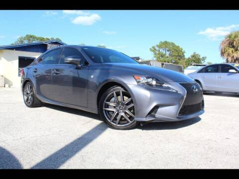 2016 Lexus IS 350 for sale at AUTOPARK AUTO SALES in Orlando FL