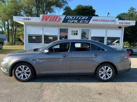 2012 Ford Taurus for sale at Will's Motor Sales in Grandville MI