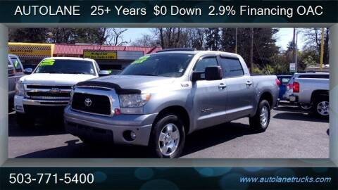 2008 Toyota Tundra for sale at Auto Lane in Portland OR