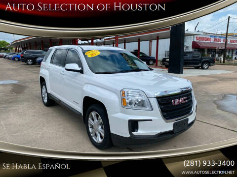 2017 GMC Terrain for sale at Auto Selection of Houston in Houston TX