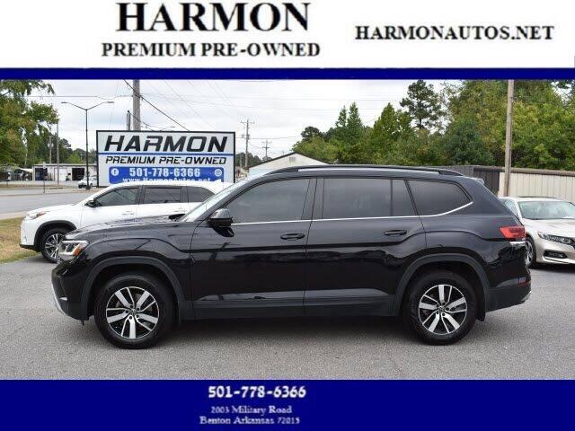 2021 Volkswagen Atlas for sale at Harmon Premium Pre-Owned in Benton AR