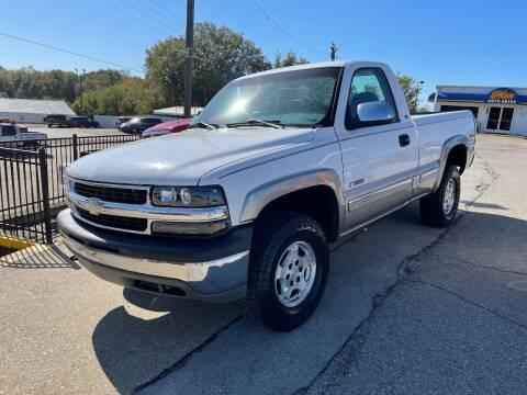 2000 Chevrolet Silverado 1500 for sale at Greg's Auto Sales in Poplar Bluff MO