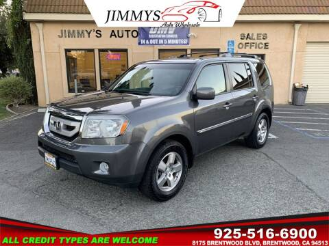 2011 Honda Pilot for sale at JIMMY'S AUTO WHOLESALE in Brentwood CA