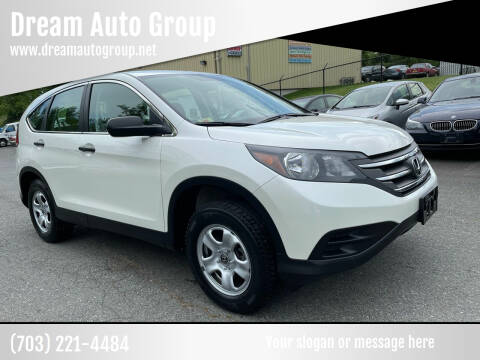 2014 Honda CR-V for sale at Dream Auto Group in Dumfries VA