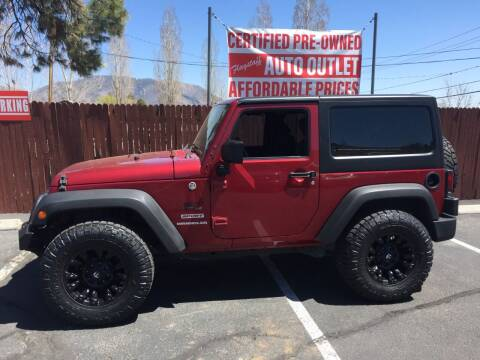2012 Jeep Wrangler for sale at Flagstaff Auto Outlet in Flagstaff AZ