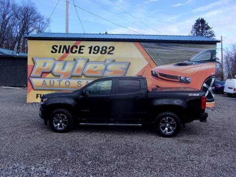 2016 Chevrolet Colorado for sale at Pyles Auto Sales in Kittanning PA
