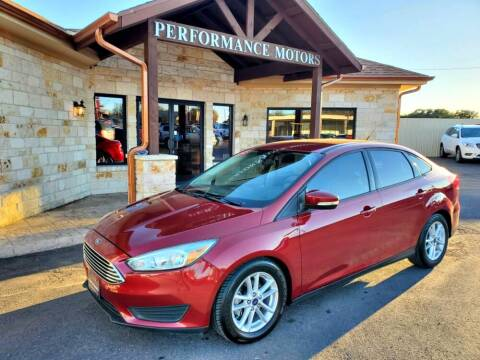 2016 Ford Focus for sale at Performance Motors Killeen Second Chance in Killeen TX