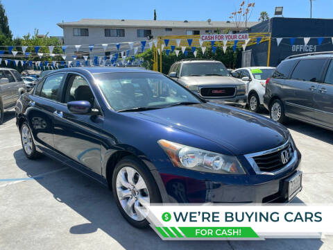 2008 Honda Accord for sale at Good Vibes Auto Sales in North Hollywood CA
