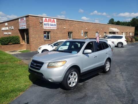 2009 Hyundai Santa Fe for sale at ARA Auto Sales in Winston-Salem NC