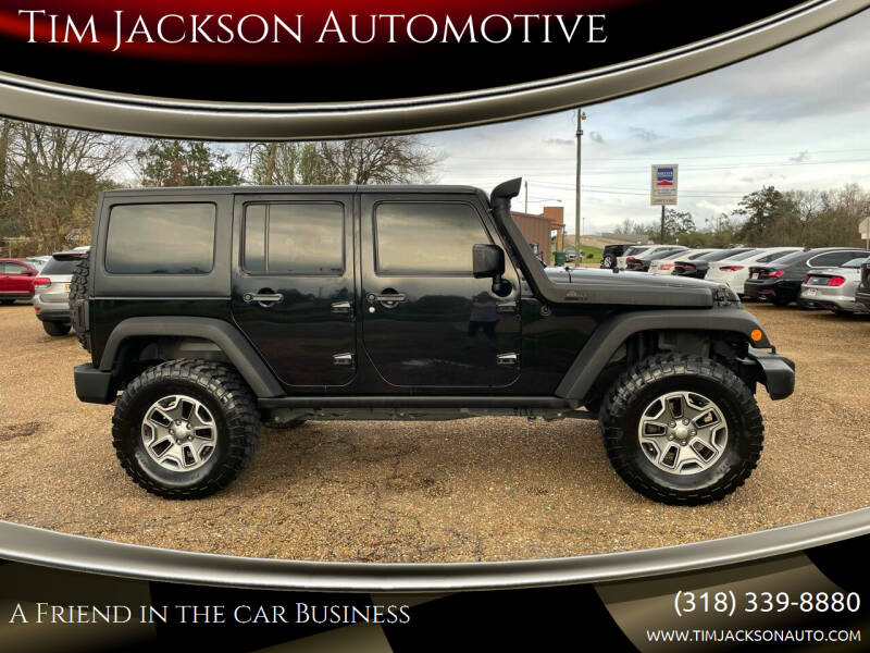 2012 Jeep Wrangler Unlimited for sale at Tim Jackson Automotive in Jonesville LA
