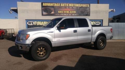 2012 Ford F-150 for sale at Advantage Motorsports Plus in Phoenix AZ