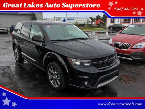 2016 Dodge Journey for sale at Great Lakes Auto Superstore in Pontiac MI