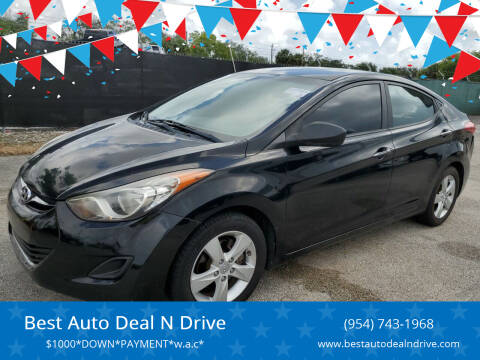 2011 Hyundai Elantra for sale at Best Auto Deal N Drive in Hollywood FL
