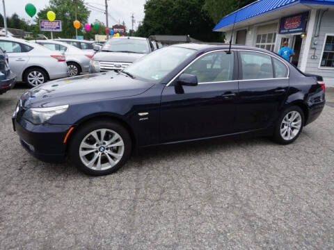 2010 BMW 5 Series for sale at Colonial Motors in Mine Hill NJ