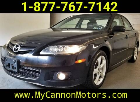 2006 Mazda MAZDA6 for sale at Cannon Motors in Silverdale PA